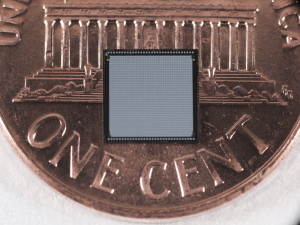 3D pixel-readout chip, designed by Fermilab consortium, built by Tezzaron