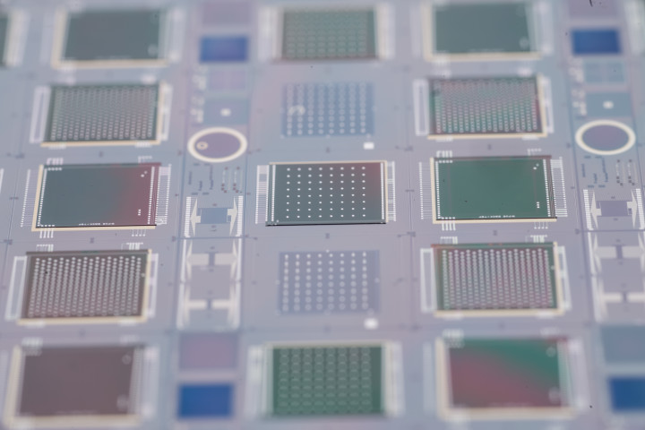 image of silicon chips