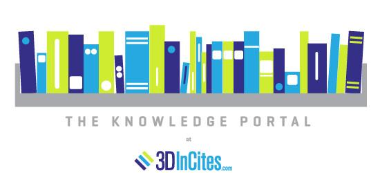 3D InCites knowledge portal logo