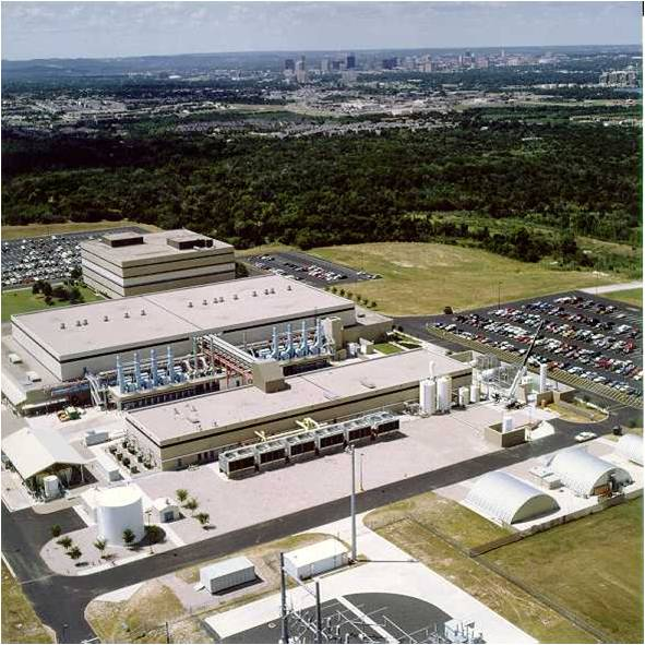 aerial view of Novati facility in Austin