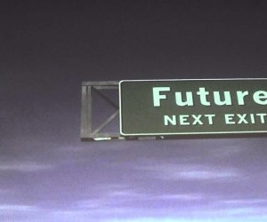 Road sign to the Future